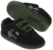 Etnies Kid's Cinch Velcro Toddler Shoe