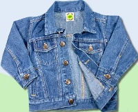 Toddler Classic Denim Jean Jacket