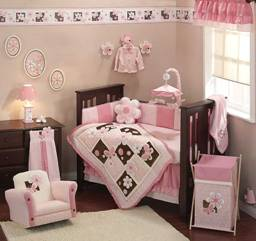 Petals Baby Crib Bedding