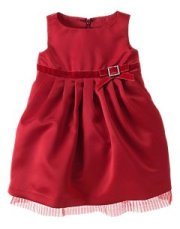 Baby Girl Satin Bow Dress