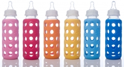 Wee-Go 9oz Glass Baby Bottle