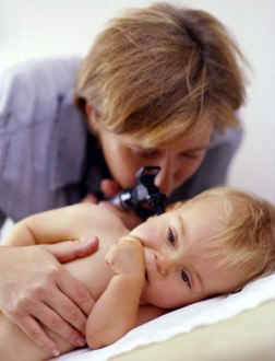 ear infection in your infant