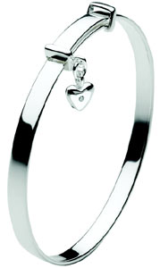 diamond baby bangle