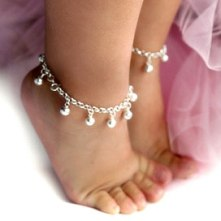 jingle bells anklet