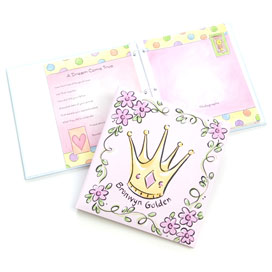 princess baby book