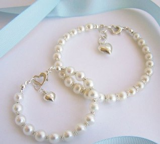 princess pearl childs bracelet