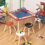 sports star table and stool set