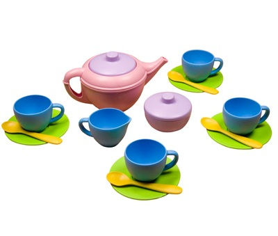 eco freidnly tea set
