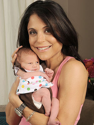 bethenny frankel with baby bryn