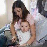 Baby Born Onboard Airplane to Fly Free for Life