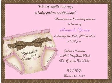 Baby Shower Invitation Wording Ideas and Quotes Newborn Baby Zone