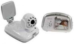 Portable Video and Sounds Baby Monitor