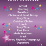 Activities to Include in Your Preschool Daily Schedule
