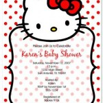 Where to Get Hello Kitty Baby Shower Invitations