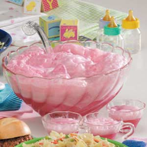 Best Punch Recipes for Baby Showers