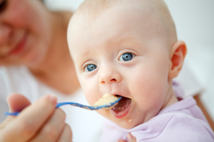 Problems Feeding Baby Solids