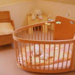 Round Baby Cribs Furniture