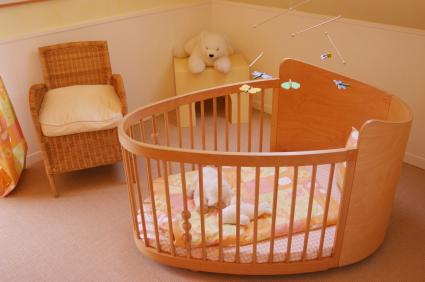 Round-Baby-Cribs-Furniture