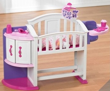 Kidkraft white toddler bed - Best Baby Doll Furniture