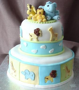 Ideas for Cakes for Baby Showers