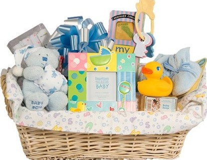 Baby Gift Baskets Ideas