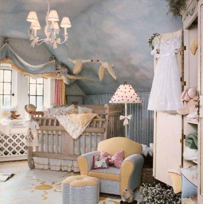 Cute nursery theme ideas for a baby girl