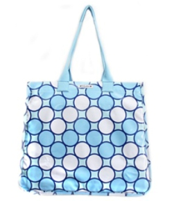 Polka-dot-Diaper-Bag
