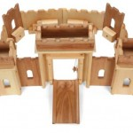 Elves and Angels Fortress Wooden Castle