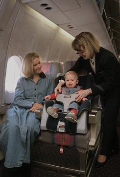 Make A Car >> Babies to Be Strapped into Plane Seats - Newborn Baby Zone