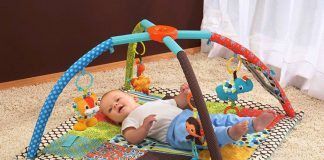 Five toys perfect for newborn baby development